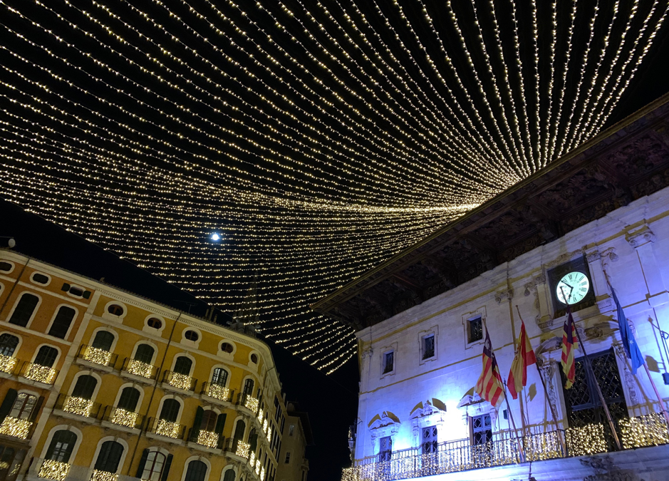Palma City Christmas lights – Fun Walk