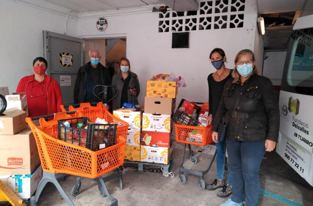 This week´s follow-up Food Basket Project
