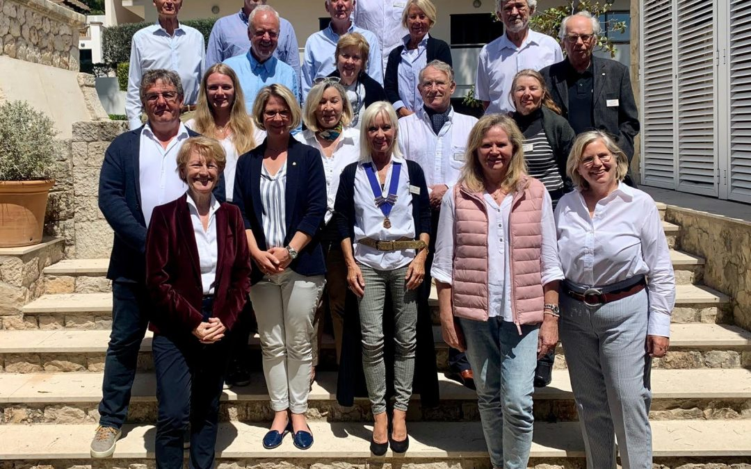 The Induction of new members to Rotary Club Calvià International